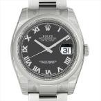ロレックス デイトジャスト 116200 ブラック/ローマ 新品 メンズ 腕時計