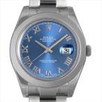 ロレックス デイトジャストII 116300 ブルー/ローマ 新品 メンズ 腕時計