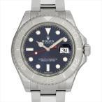 最大5万円オフクーポン配布 6/15開始 ロレックス ヨットマスター ロレジウム 116622 ブルー 新品 メンズ 腕時計