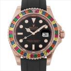 ロレックス ヨットマスター 116695SATS キャンディ 新品 メンズ 腕時計