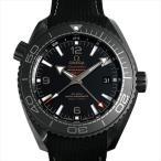 オメガ シーマスター プラネットオーシャン 600M コーアクシャル マスタークロノメーター GMT ディープブラック 215.92.46.22.01.001 新品 メンズ 腕時計