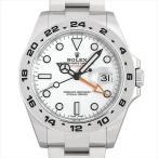 ロレックス エクスプローラーII 216570 ホワイト 新品 メンズ 腕時計