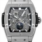 ウブロ スピリット オブ ビッグバン ムーンフェイズ チタニウム 647.NX.1137.RX 新品 メンズ 腕時計