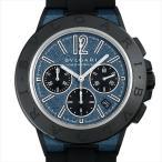 48回払いまで無金利 ブルガリ ディアゴノ マグネシウム クロノグラフ ブルーラッカー DG42C3SMCVDCH 新品 メンズ 腕時計画像