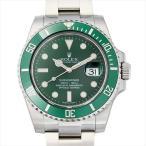 ロレックス サブマリーナ デイト 116610LV グリーン 新品 メンズ 腕時計