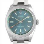 最大5万円オフクーポン配布 6/15開始 ロレックス ミルガウス Zブルーダイアル 116400GV 新品 メンズ 腕時計