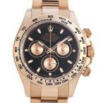 48回払いまで無金利 ロレックス コスモグラフ デイトナ 116505 ブラック 未使用 メンズ 腕時計