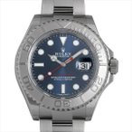 48回払いまで無金利 ロレックス ヨットマスター ロレジウム 116622 ブルー 未使用 メンズ 腕時計