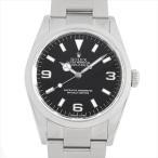 ロレックス エクスプローラーI V番  114270 中古 メンズ 腕時計