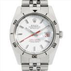 48回払いまで無金利 ロレックス デイトジャスト ターノグラフ 116264 ホワイト/5列ブレス Z番 中古 メンズ 腕時計