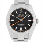 48回払いまで無金利 ロレックス ミルガウス 116400 ブラック V番 中古 メンズ 腕時計