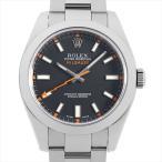 48回払いまで無金利 ロレックス ミルガウス 116400 ブラック Z番 中古 メンズ 腕時計