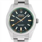 48回払いまで無金利 ロレックス ミルガウス 116400GV ブラック V番 中古 メンズ 腕時計