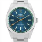 48回払いまで無金利 ロレックス ミルガウス ランダムシリアル 116400GV Zブルー 中古 メンズ 腕時計
