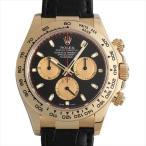 48回払いまで無金利 ロレックス コスモグラフ デイトナ 116518 ブラック V番 中古 メンズ 腕時計 キャッシュレス5%還元
