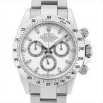 ロレックス コスモグラフ デイトナ ランダムシリアル 116520 ホワイト 中古 メンズ 腕時計