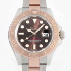 SALE 48回払いまで無金利 ロレックス ヨットマスター40 116621 チョコレートブラウン 中古 メンズ 腕時計