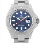 【48回払いまで無金利】ロレックス ヨットマスター ロレジウム 116622 ブルー 中古 メンズ 腕時計