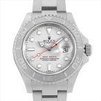 48回払いまで無金利 ロレックス ヨットマスター ロレジウム 116622 シルバー ランダムシリアル 中古 メンズ 腕時計