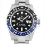48回払いまで無金利 ロレックス GMTマスターII 116710BLNR 中古 メンズ 腕時計