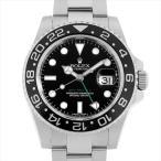 48回払いまで無金利 ロレックス GMTマスターII 116710LN ランダムシリアル 中古 メンズ 腕時計
