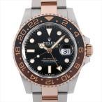 48回払いまで無金利 ロレックス GMTマスターII 126711CHNR 中古 メンズ 腕時計