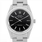 48回払いまで無金利 ロレックス エアキング 14000 ブラック P番 中古 メンズ 腕時計