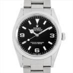 48回払いまで無金利 ロレックス エクスプローラーI 14270 P番 中古 メンズ 腕時計