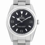 【48回払いまで無金利】ロレックス エクスプローラーI E番 14270 ブラックアウト 中古 メンズ 腕時計