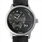 SALE グラスヒュッテオリジナル パノラマデイト パワーリザーブ 165-01-23-12-50 中古 メンズ 腕時計