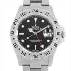 48回払いまで無金利 ロレックス エクスプローラーII 16570 ブラック U番 中古 メンズ 腕時計