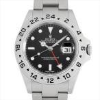 48回払いまで無金利 ロレックス エクスプローラーII 16570 ブラック M番 中古 メンズ 腕時計