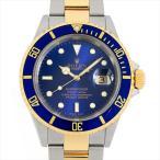 60回払いまで無金利 ロレックス サブマリーナ デイト 16613 ブルー N番 中古 メンズ 腕時計