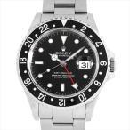 48回払いまで無金利 ロレックス GMTマスター 黒ベゼル 16700 T番 中古 メンズ 腕時計