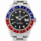 48回払いまで無金利 ロレックス GMTマスター 赤青ベゼル 16700 A番 中古 メンズ 腕時計