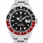 ロレックス GMTマスターII 黒ベゼル Z番 16710 中古 メンズ 腕時計