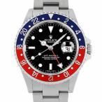 SALE ロレックス GMTマスターII 赤青ベゼル N番 16710 先端ドット 中古 メンズ 腕時計