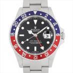 48回払いまで無金利 ロレックス GMTマスターII 赤青ベゼル 16710 スティックダイアル Z番 中古 メンズ 腕時計