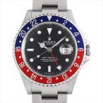 48回払いまで無金利 ロレックス GMTマスターII 赤青ベゼル 16710 スティックダイアル Z番 Cal.3185 中古 メンズ 腕時計
