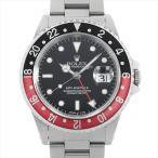 SALE ロレックス GMTマスターII 赤黒ベゼル X番 16710 中古 メンズ 腕時計