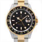 SALE 48回払いまで無金利 ロレックス GMTマスターII P番 16713 ブラック 中古 メンズ 腕時計