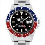 SALE 48回払いまで無金利 ロレックス GMTマスター 赤青ベゼル 82番 16750 スパイダーダイヤル 中古 メンズ 腕時計