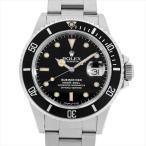 ショッピングロレックス ロレックス サブマリーナ デイト 97番 168000 トリプルゼロ 中古 メンズ 腕時計