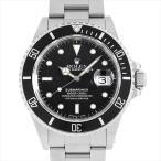 48回払いまで無金利 ロレックス サブマリーナ デイト R番 168000 トリプルゼロ 中古 メンズ 腕時計