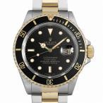 SALE 【48回払いまで無金利】ロレックス サブマリーナデイト R番 16803 ブラック 中古 メンズ 腕時計