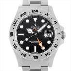 48回払いまで無金利 ロレックス エクスプローラーII 216570 ブラック ランダムシリアル 中古 メンズ 腕時計