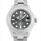SALE 48回払いまで無金利 ロレックス ヨットマスター ロレジウム 268622 ダークロジウム 中古 ボーイズ 腕時計