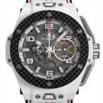 ウブロ ビッグバン フェラーリ ホワイトセラミック カーボン 限定500本 401.HQ.0121.VR 中古 メンズ 腕時計