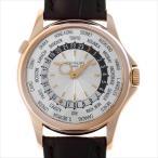48回払いまで無金利 パテックフィリップ ワールドタイム 5130R-001 中古 メンズ 腕時計