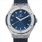 48回払いまで無金利 ウブロ クラシックフュージョン チタニウム 581.NX.7170.LR 中古 レディース 腕時計